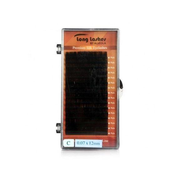 Long lasheas extreme volume selyem pilla C/0,07-12mm
