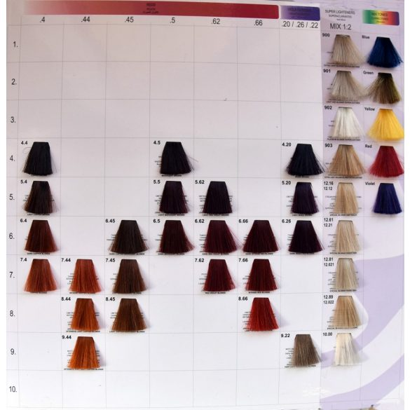 Suprema color - professzionális oxidációs tartós krémhajfesték 60ml