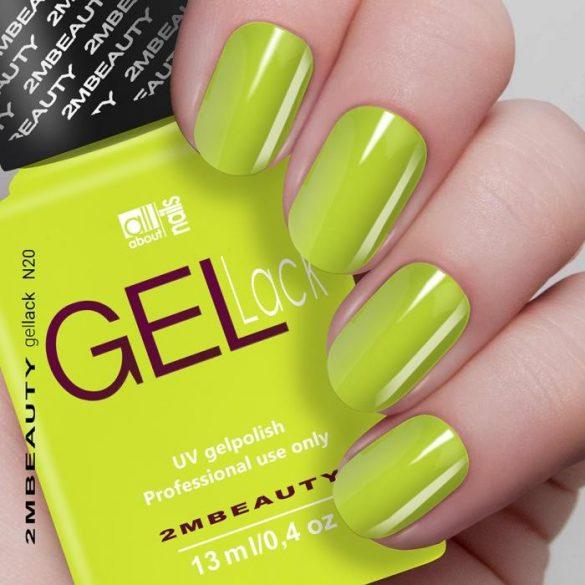 Neon Gel Lakk 020