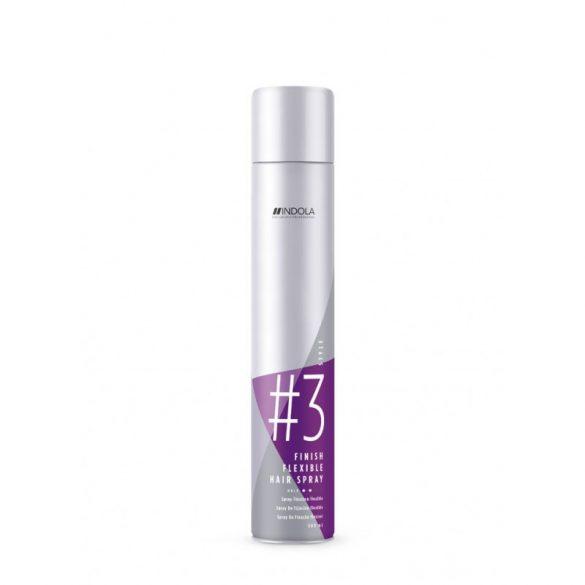 INDOLA Flexible Hair Spray Rugalmas Tartású Hajlakk 500 ml