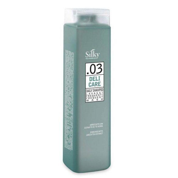 Silky Deli Care sampon gyakori hajmosáshoz, 250 ml