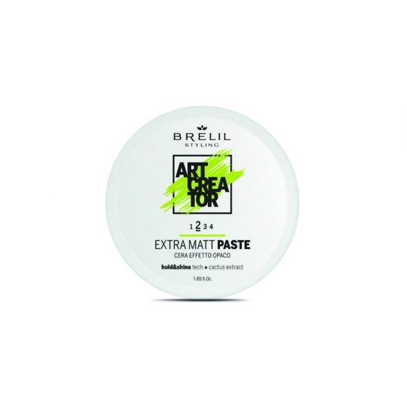Brelil Art Creator Extra matt paste 50 ml - Extra-matt hatású paszta