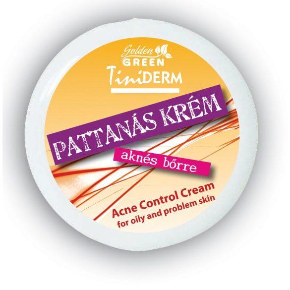 GOLDEN GREEN Tiniderm Pattanás krém 100 ml