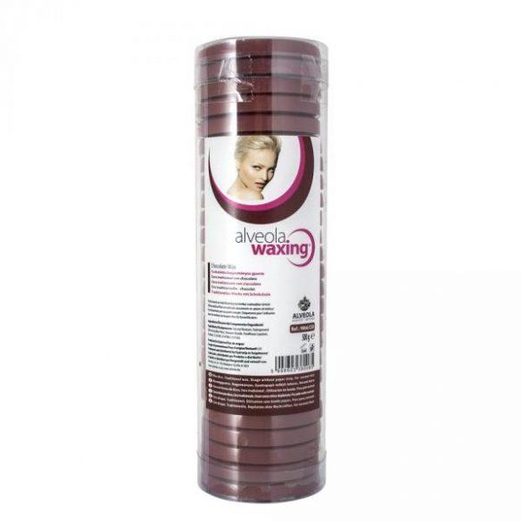 Alveola Waxing Standard csokis meleg gyanta korong henger 500g