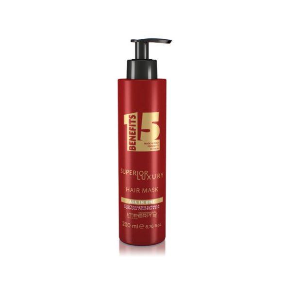 All In One Superior Luxury Hair Mask - Luxus mélyregeneráló multifunkciós hajmaszk 200ml