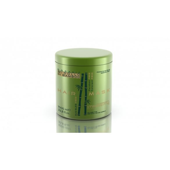 Organic Midollo Di Bamboo Parabén Mentes Hajmaszk 250ml / 1000ml