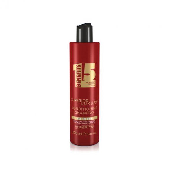 All In One Superior Luxury Conditioning Shampoo-Luxus 2 az 1-ben multifunkciós krémsampon és balzsam 200ml