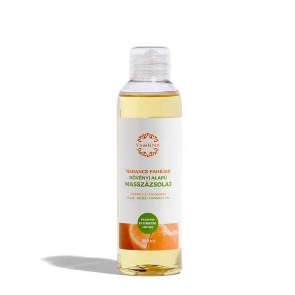 Yamuna Narancs-fahéjas növényi alapú masszázsolaj 250ml / 1000ml
