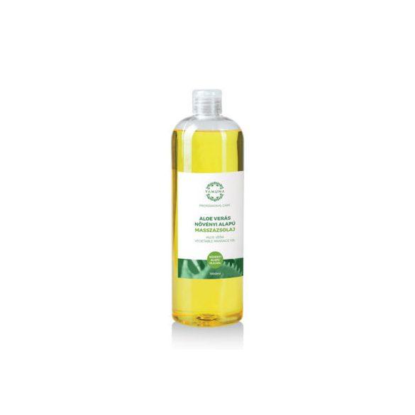 Yamuna aloe verás növényi alapú masszázsolaj 250 ml / 1000ml