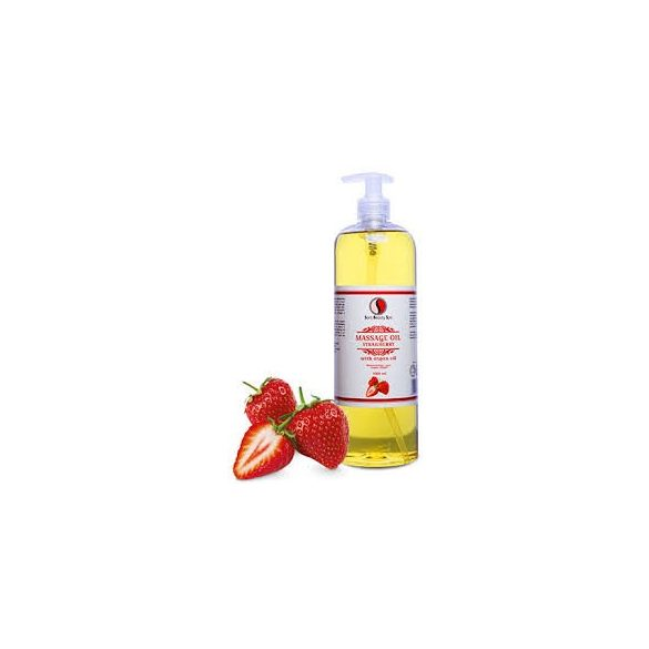 Sara Beauty Spa Masszázsolaj Eper - argánolajjal, E-vitaminnal 250ml / 1000ml