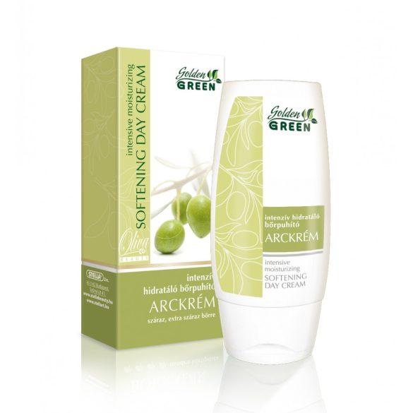 GOLDEN GREEN OLÍVA BEAUTY  Intenzív hidratáló bőrpuhító arckrém 100 ml