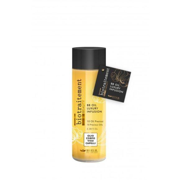Brelil Bio Beauty OIL Luxury  - BB Luxus test és hajápoló olaj  100 ml