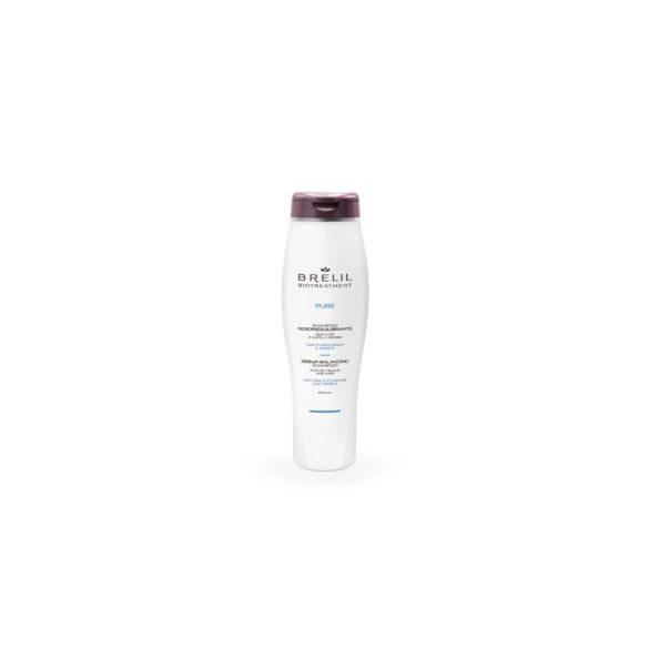Brelil Biotreatment Pure Sebo Balancing Shampoo 250 ml - Faggyúkiválasztást (Zsírosodást) kiegyensúlyozó sampon