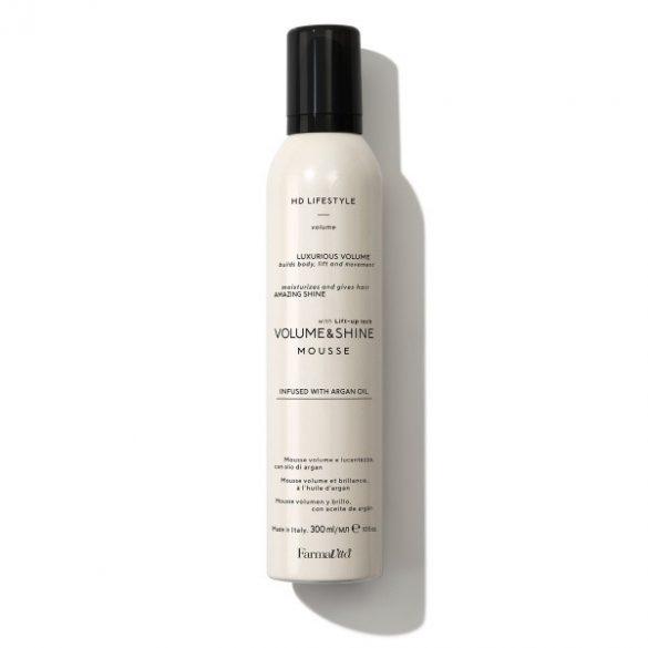 HD Life Style Premium volumen növelő hajhab extra csillogással 300ml