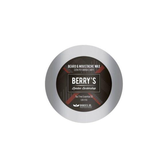 Brelil Berry's Beard & Moustache wax - Szakáll és bajusz wax 25 ml