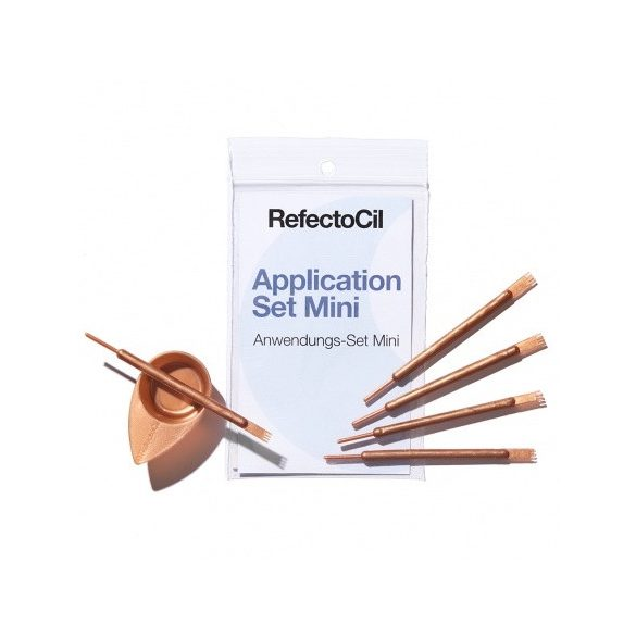 RefectoCil mini applikátor szett - rózsa arany 1db