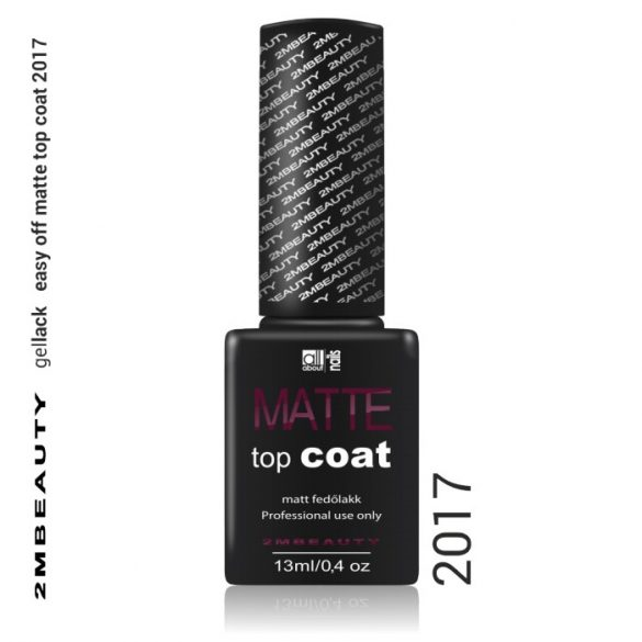GEL LACK - EASY OFF MATTE TOP COAT  13 ml